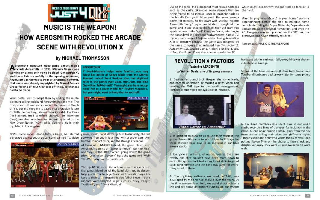 Music is the Weapon – How Aerosmith Rocked the Arcade