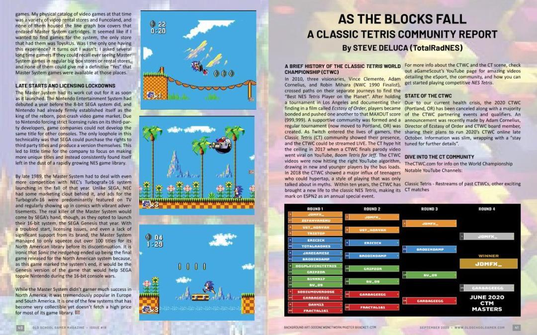 A Classic Tetris Community Report