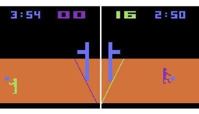 Atari 2600 Encyclopedia: Do you know Basketball?