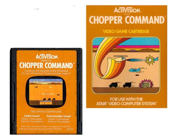 Atari 2600 Encyclopedia: Do you know Chopper Command?