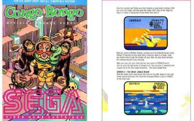 Atari 2600 Encyclopedia: Do you know Congo Bongo?