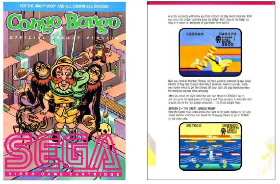 Atari 2600 Encyclopedia: Do you know Congo Bongo?