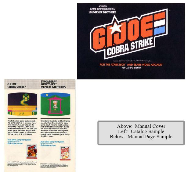 Atari 2600 Encyclopedia: Do you know G.I. Joe?