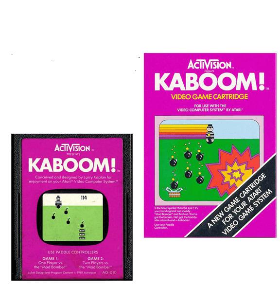Atari 2600 Encyclopedia: Do you know Kaboom!