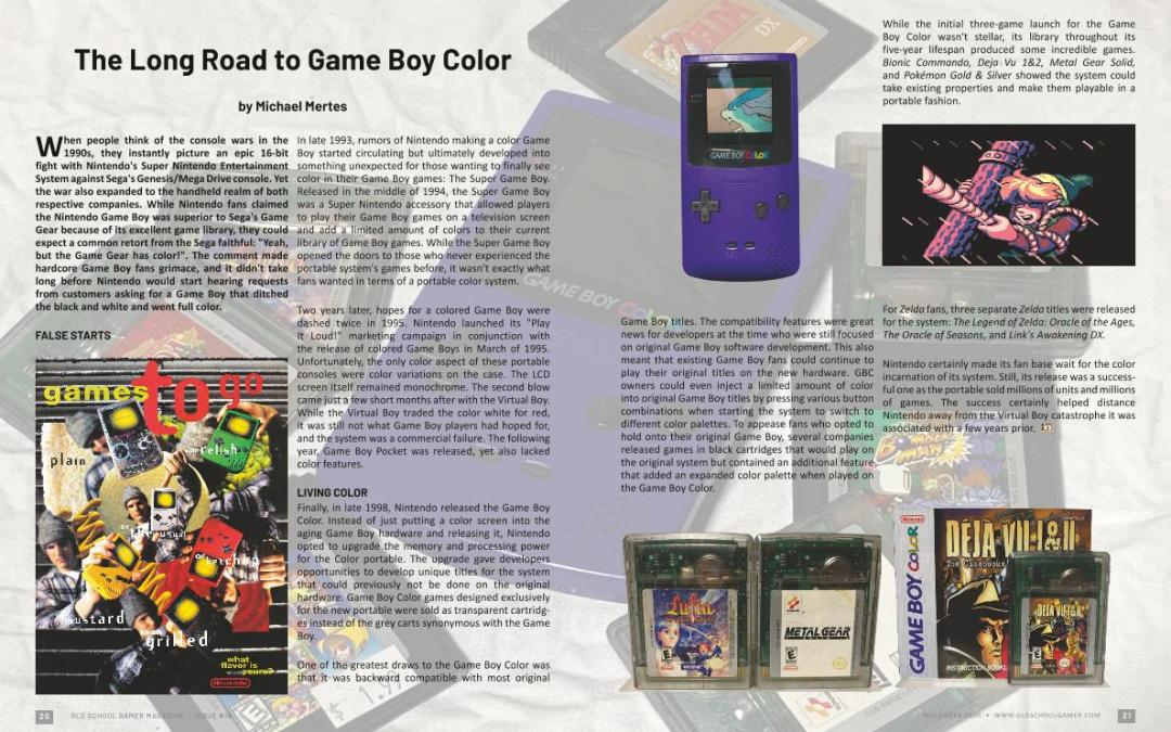 The Long Road to Game Boy Color – by Michael Mertes