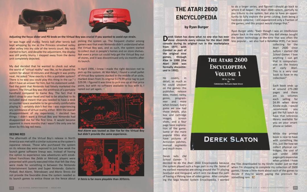 The Atari 2600 Encyclopedia – by Ryan Burger