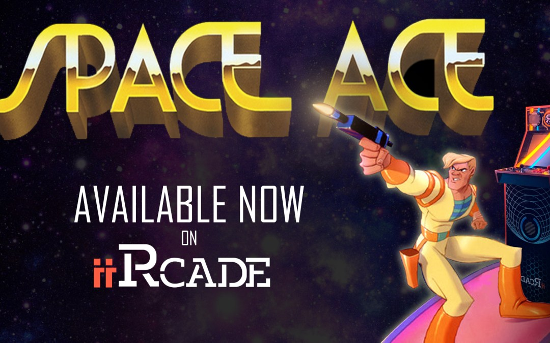 Space Ace Now Available On the iiRcade