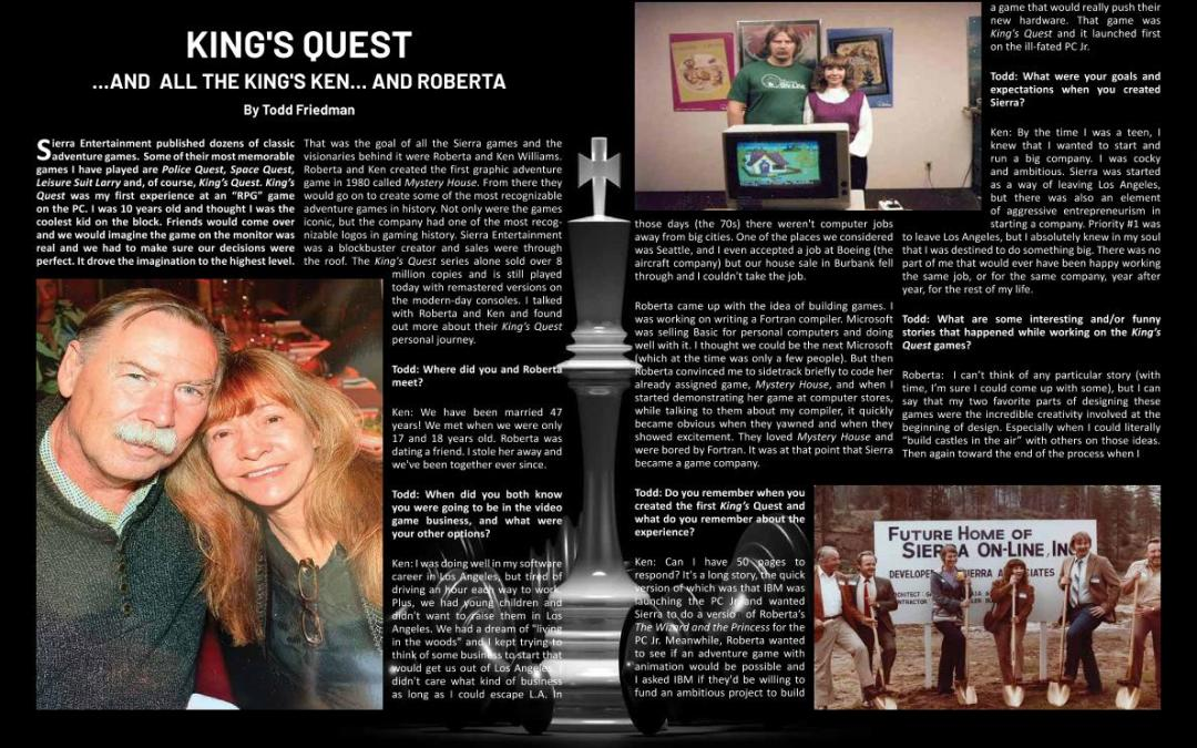 King's Quest – by Todd Friedman