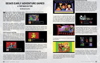 Sega's Early Adventure Games – by Michael Coorlim