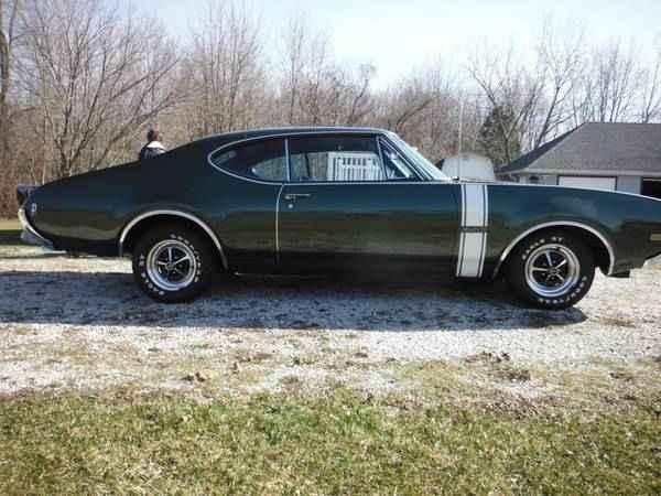 1968 Olds 442 W 30 Westville In Oldsmobilecentral Com