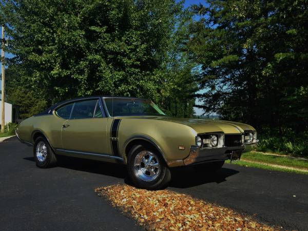 Lovely 1968 Oldsmobile Cutlass For Sale Craigslist - dexetra org