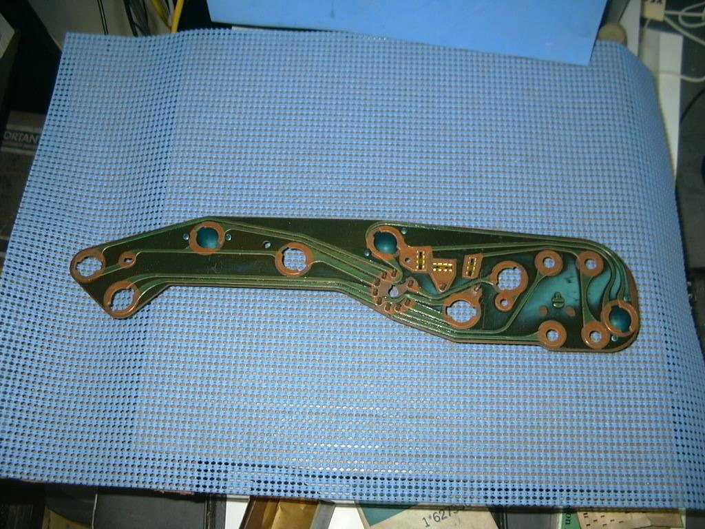 1966 american motors rambler classic instrument panel