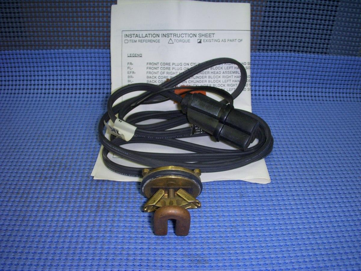1982 1991 Gm Engine Block Heater Nos 12340072