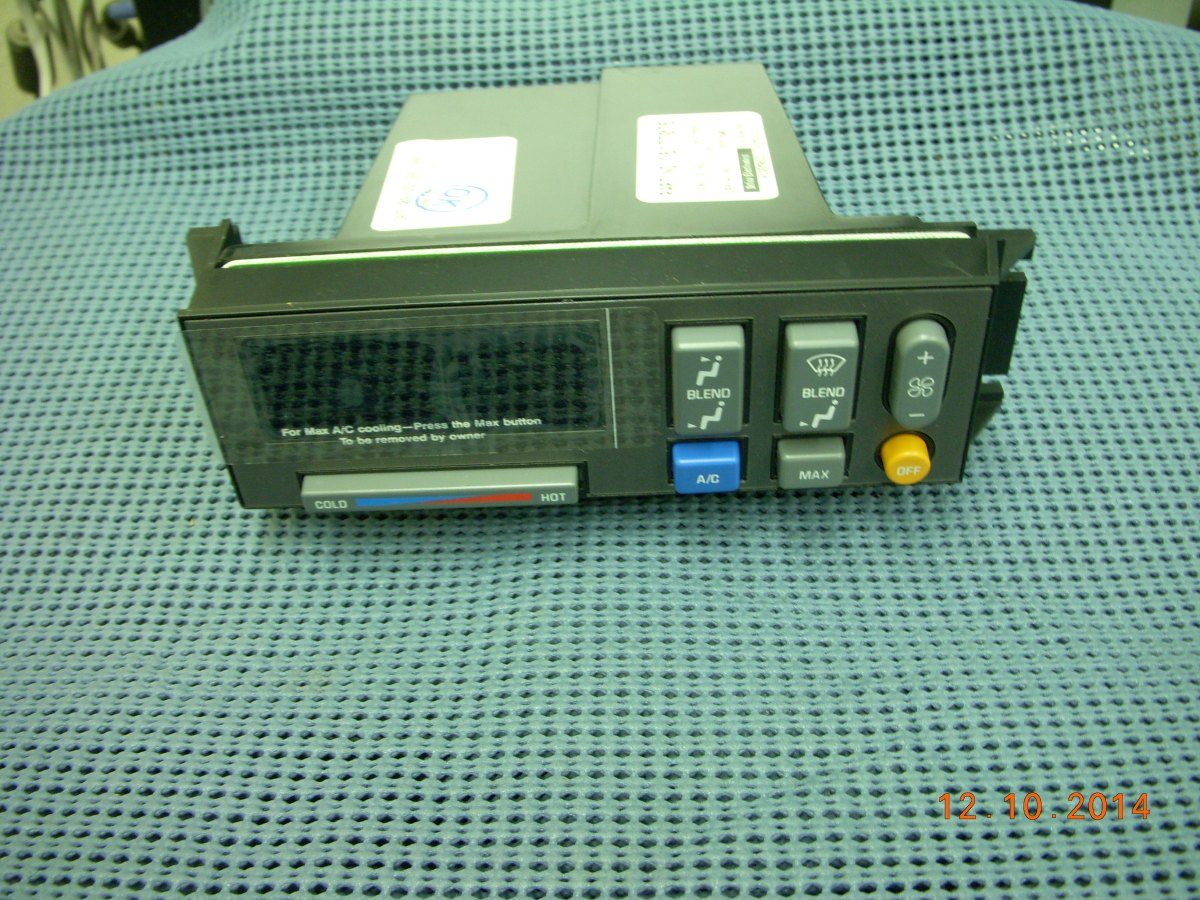 1992 1994 Chevrolet And G M C Pickup A C And Heater Control Module Nos 16177555