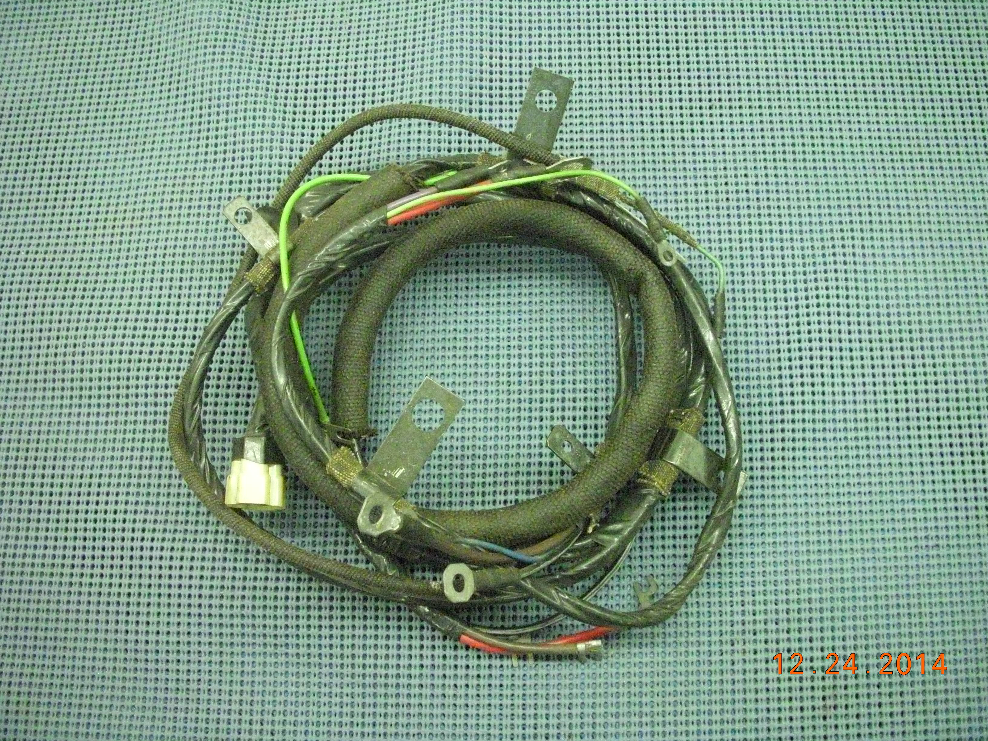 1960 1962 gmt engine wiring harness nos 2974619 oldsmobile rh oldsobsolete com  nitrous express wiring harness