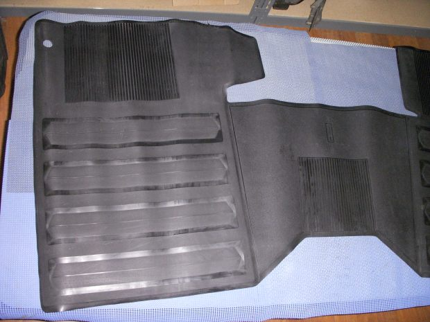 1967 oldsmobile one piece front floor mat nos 982905 for 1 piece floor mats