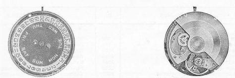A Schild AS 1986 watch movement