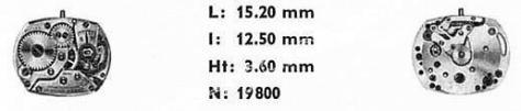 Omega 483 watch movements