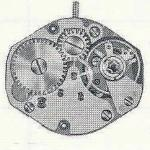 FHF Font 100.101 M8 ST watch movements