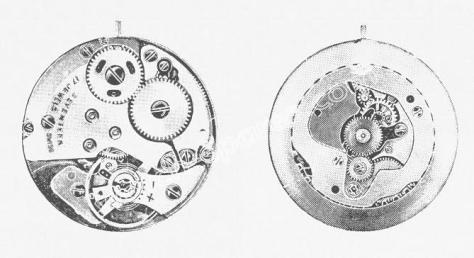 Standard ST 1941 watch movements