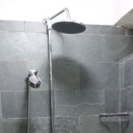 Guest shower - Shaxi Old Theatre Inn - Yunnan China