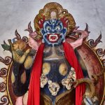 Mahakala - Great Black Sjy God - Shaxi Pear Orchard Temple - Yunnan China
