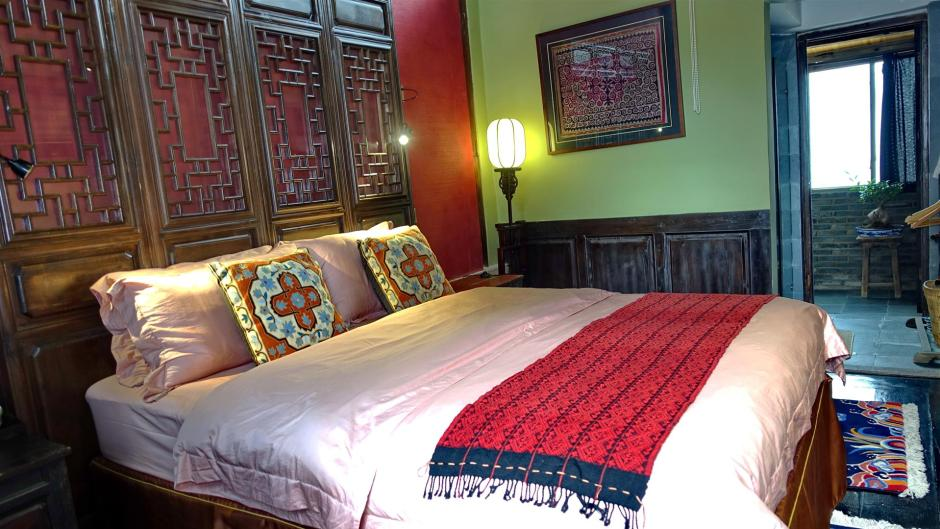 Shaxi boutique hotel room - Old Theatre Inn - Yunnan China