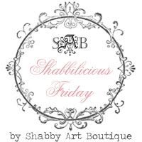 Shabbylicious button