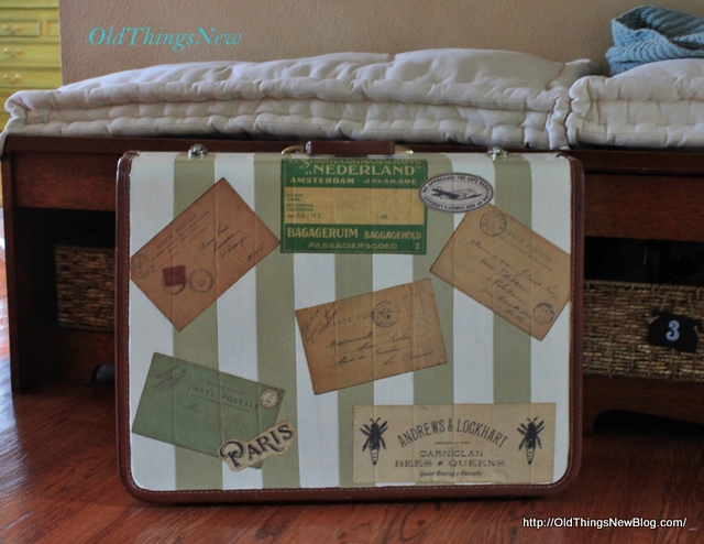 4-Vintage Suitcase After and Bdrm Bench Before 016