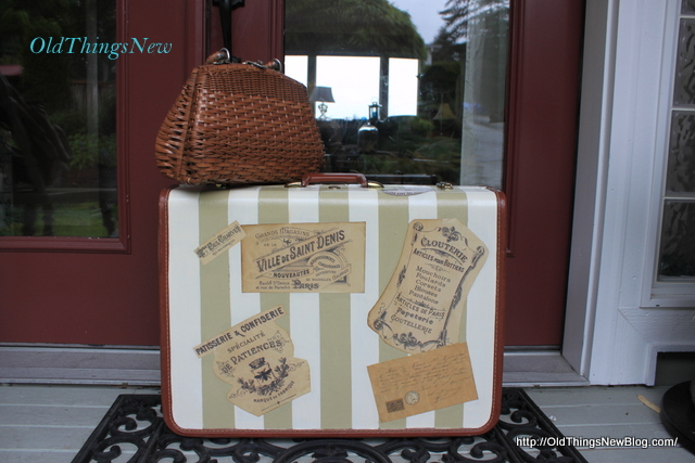 8-Vintage Suitcase After and Bdrm Bench Before 033