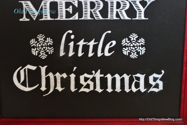 7-Have Yourself A Merry Little Christmas sign 008