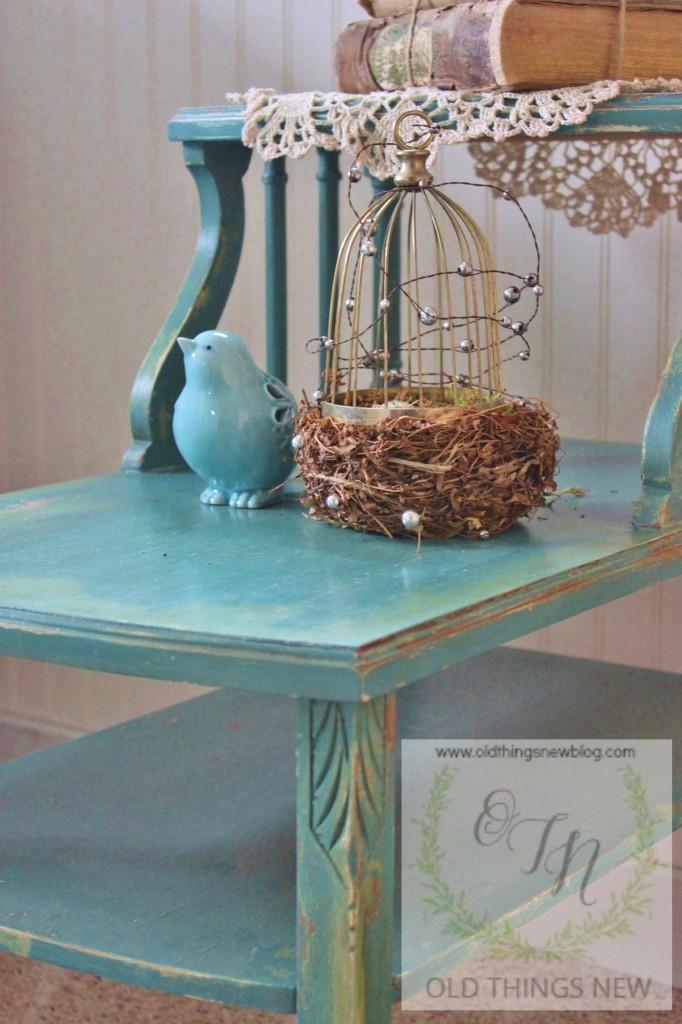 MMS Vintage Side Table 006