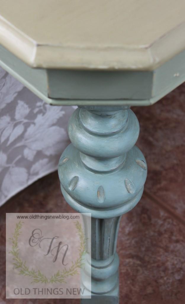 Vintage Kitchen Table (fold-in leaf) 016