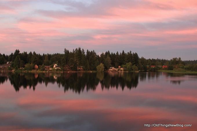3-Sunset over Pattison lake 014