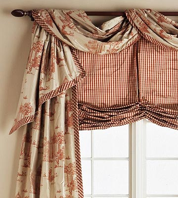To Curtain Or Not To Curtain Old Things New