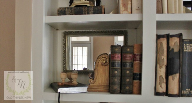 Mirror in the Bookshelf 009