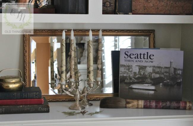 Mirror in the Bookshelf 030