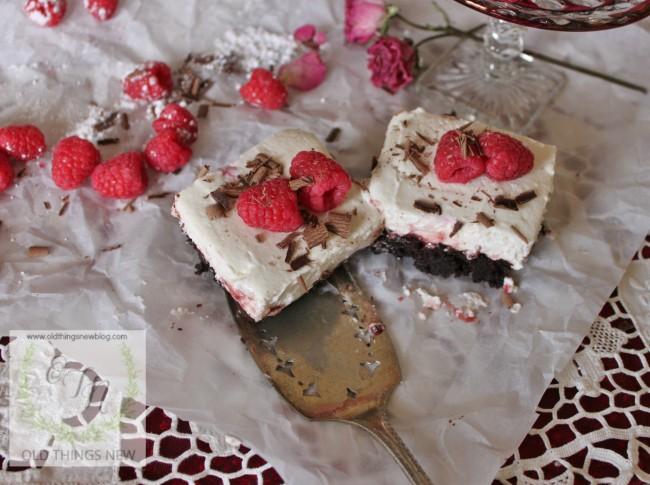 Chocolate Raspberry Valentines Dessert 001