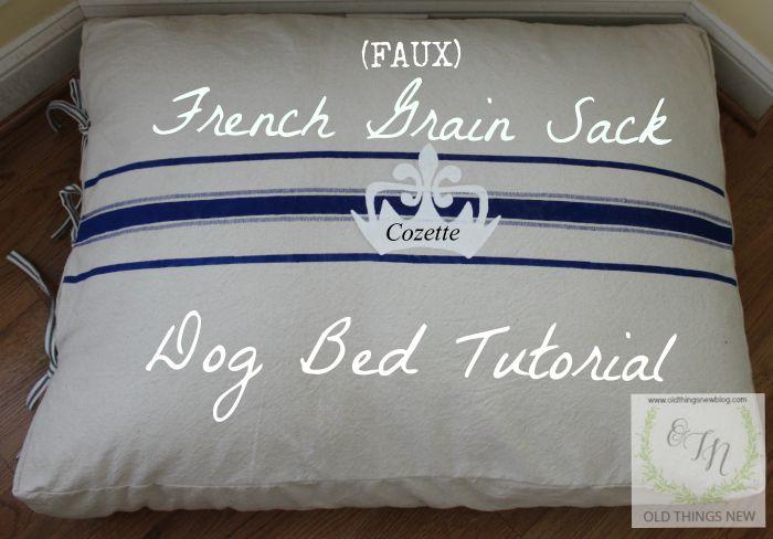 Dog bed Tute