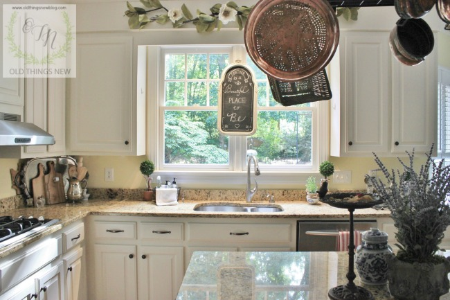 Cool Kitchen with french touches