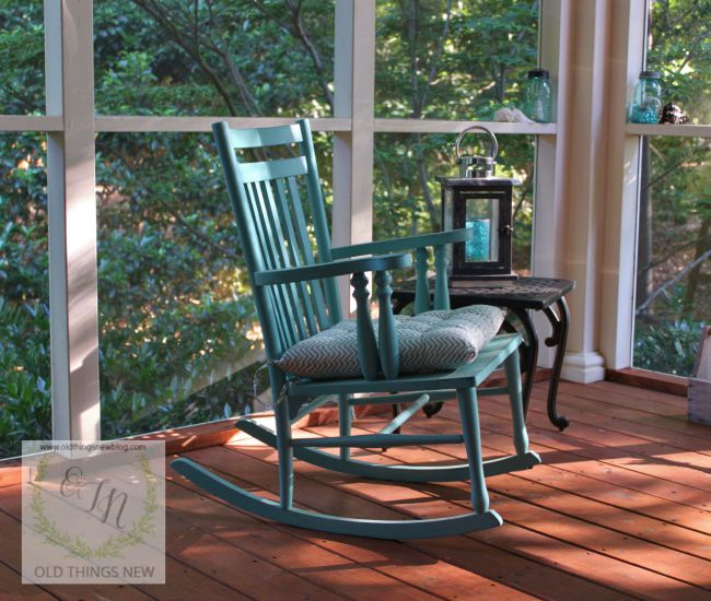 Screened Porch, Rocker  001
