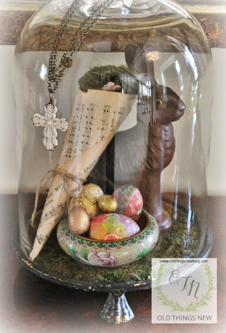 Easter Decor and Spring Arrangement 036