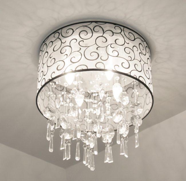 Crystal Bathroom Light Fixture 006