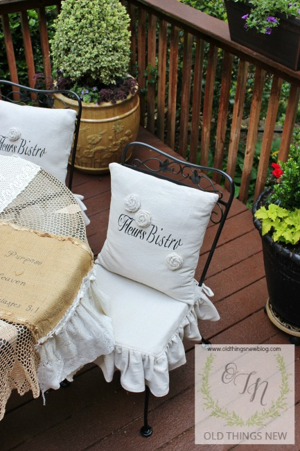 French Pillows Amp Ruffled Slipcovers Part 2 Old Things New