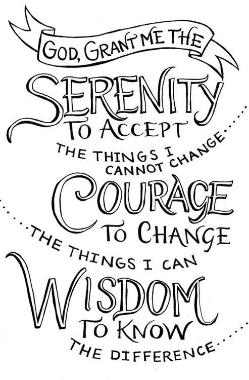 Freedom Friday – Embarrassed by the Serenity Prayer