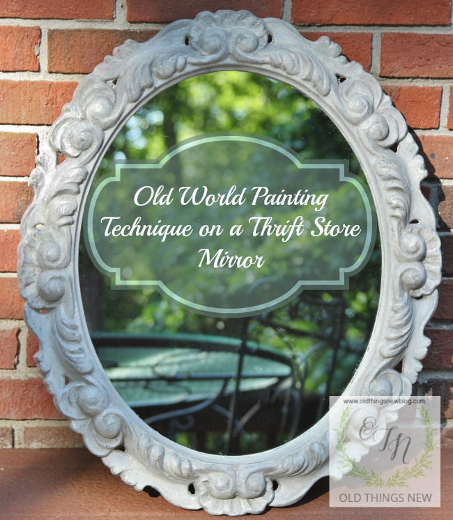 The Ugliest Mirror Makeover 038a