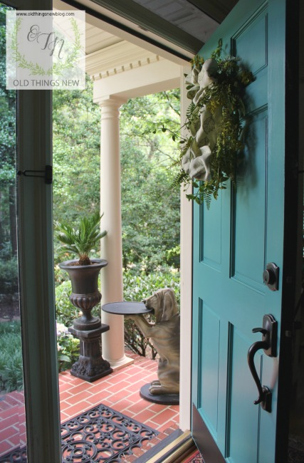10 Steps to a Perfectly Painted Exterior Door – Old Things New