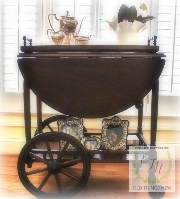 Poppy's Tea Cart 1