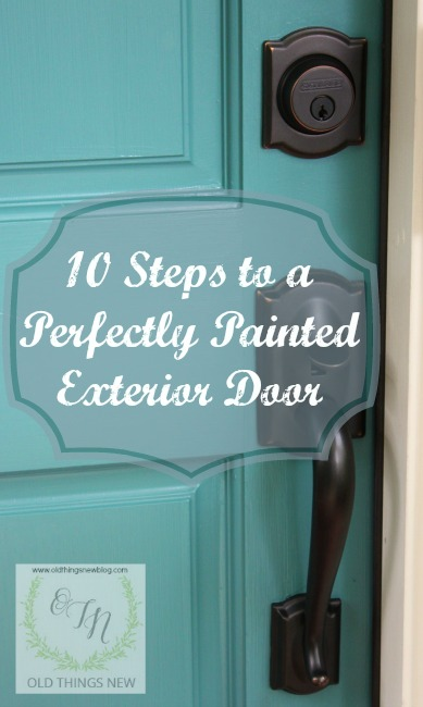 Ten Steps to a Perfectly Painted Exterior Door