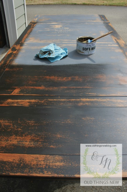 PB Knockoff Trestle Table 007